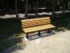 再生プラスチックベンチ