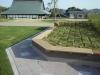 門池公園ウォールベンチ