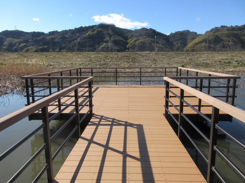 あさはた遊水地回廊(静岡県)