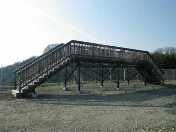 メガソーラー展望デッキ(京都府)